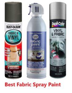best fabric spray paint