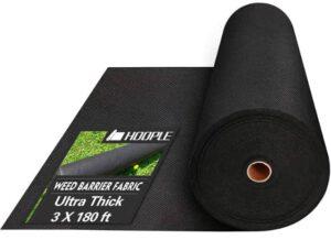 HOOPLE Ultra Thick Garden Weed Blocker Cloth