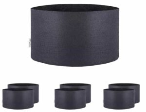 Oppolite 100 Gallon 6-Pack Round Fabric Aeration Pots