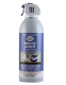 Simply Spray Upholstery Fabric Spray Paint