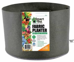 Smart Pots- 3 Gallon Fabric Smart Pot- Soft-sided Container