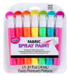 Tulip Permanent Spray Paint for Clothes & Fabric