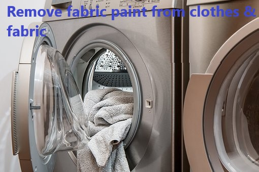 how to remove fabric paint