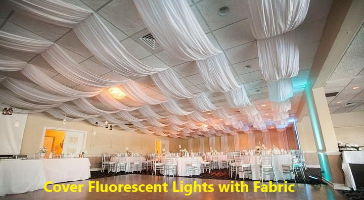 How to Cover Fluorescent Lights with Fabric