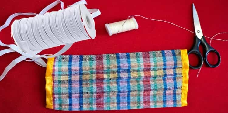 How to Sew Elastic Directly to Fabric