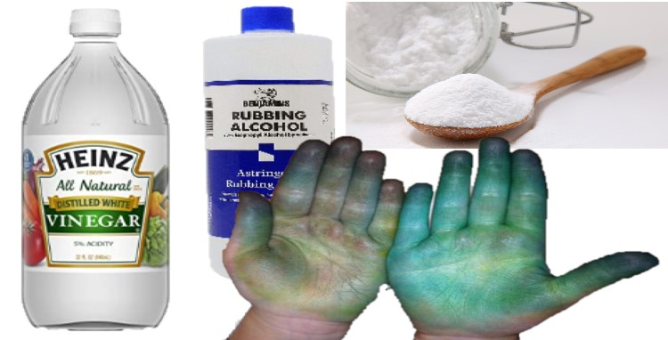 Using Household Items to Remove Fabric Dye from Skin