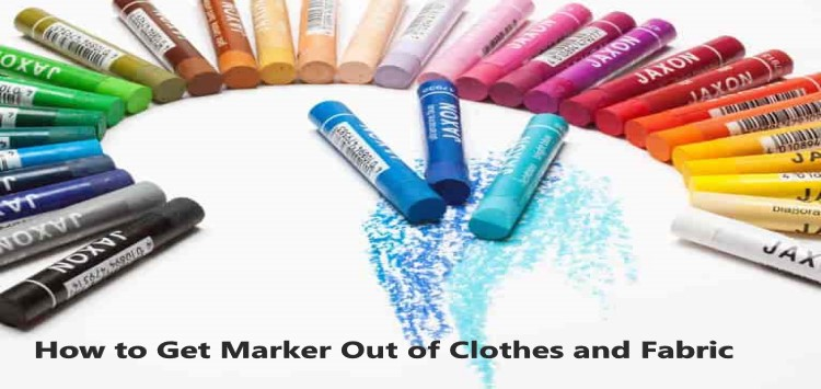 how to get marker out of clothes & fabric