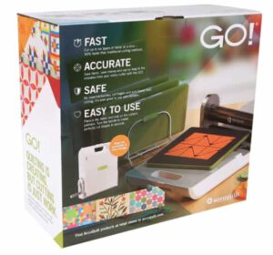 AccuQuilt Go Fabric Cutting Machine for Quilters