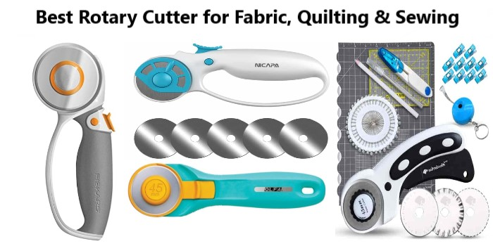 Best Rotary Cutter for Fabric, Quilting & Sewing