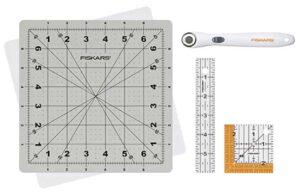 Fiskars 149800-1004 18mm Detail Fabric Cutting Set