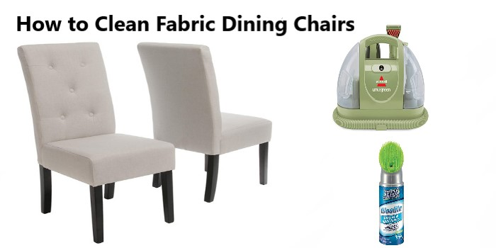 How to Clean Fabric Dining Chairs