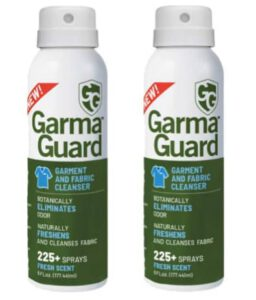 GG GARMAGUARD – On-The-Go Clothing Spray for Clothes