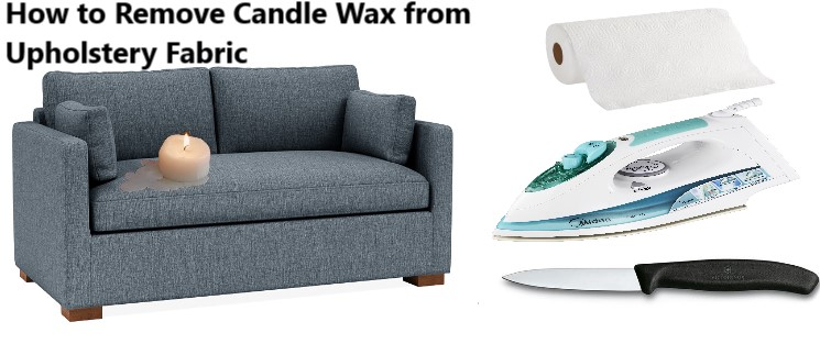 How to Remove Candle Wax from Upholstery Fabric