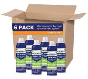 Microban Professional Aerosol Disinfectant Spray