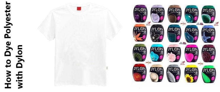 How to Dye Polyester with Dylon
