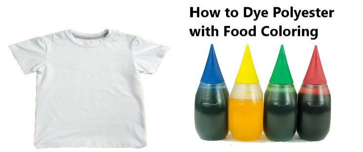 How to Dye Polyester with Food Coloring