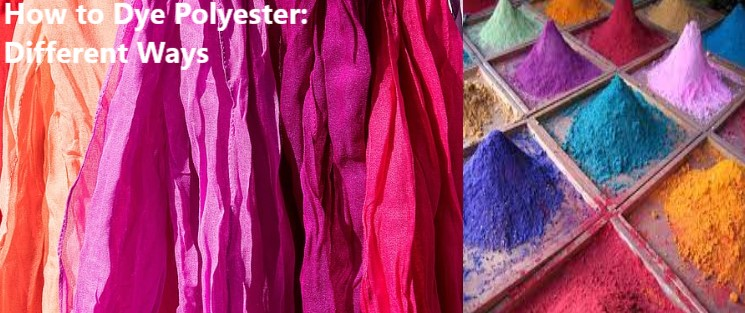 How to Dye Polyester